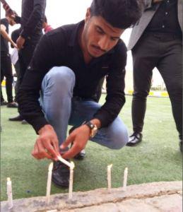 من جامعة كربلاء الى الموصل الحدباء #مصابنا_واحد