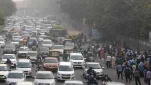 الحظر المنزلي واثره في الحد من التلوث البيئي في العالم