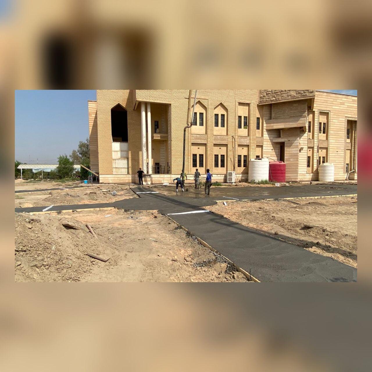 Read more about the article صيانة حدائق الكلية