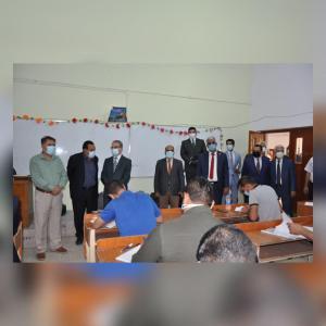 Read more about the article جانب من الامتحان التنافسي للمتقدمين للدراسات العليا