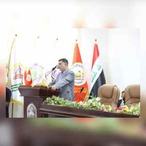 مؤتمر كلية الإدارة والاقتصاد الخامس عشر – كلمة السيد معاون الأمين العام للعتبة الحسينية المقدسة
