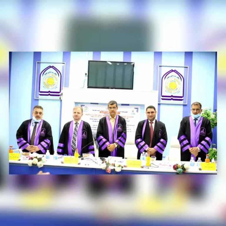 رسالة الماجستير في جامعة كربلاء تناقش ممارسات التدقيق الداخلي لتخفيض مخاطر النظم المحوسبة وتأثيرها في القرارات الاستراتيجية للشركات العامة العراقية