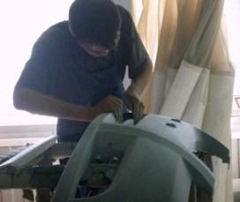 ремонт пластикового бампера