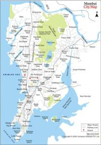 Map of Mumbai, Mumbai and ego