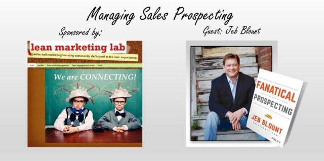 Managing Sales Prospecting