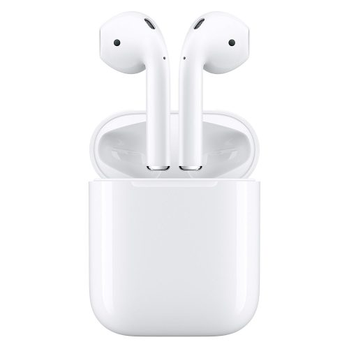 Apple Airpods Wireless Bluetooth Headset for iPhones with iOS 10 or Later White- wireless earbuds