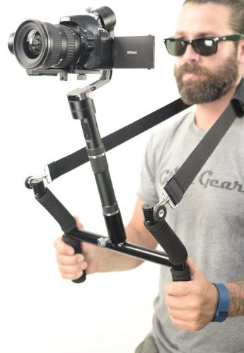 The Glide Gear Geranos 3 Axis Gyro Motorized Camera Stabilizer-DSLR Camera Stabilizers & Gimbals