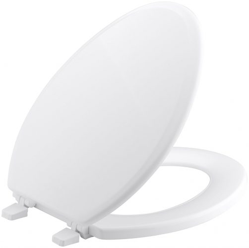 The KOHLER Ridgewood Elongated Toilet Seats