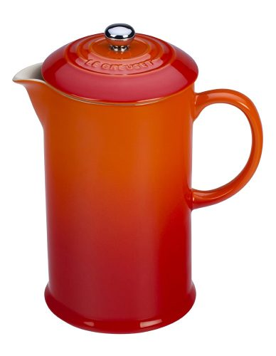 The Le Creuset Stoneware French Press- French Press Coffee Makers