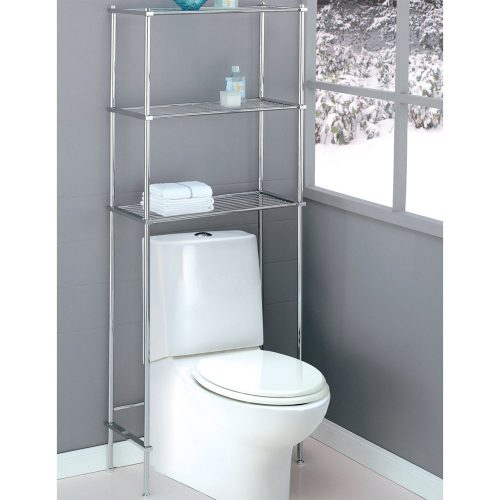 The Organize It All Metro Space Saver- bathroom shelves