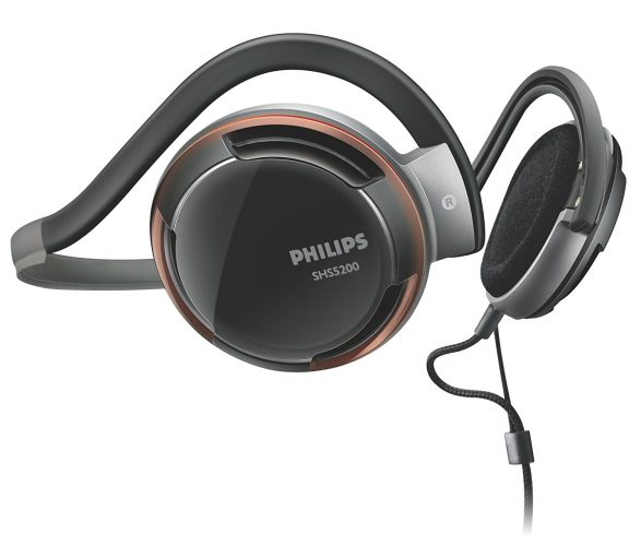 The Philips SHS5200/28 Rich Bass Neckband Headphone- best over-ear headphones