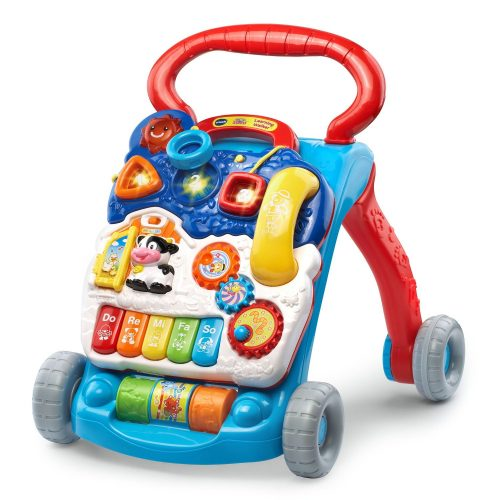 The Sit-to-Stand Learning Walker by VTech- best baby walkers