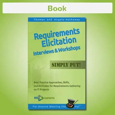 Book Requirements Elicitation Interviews and Workshops