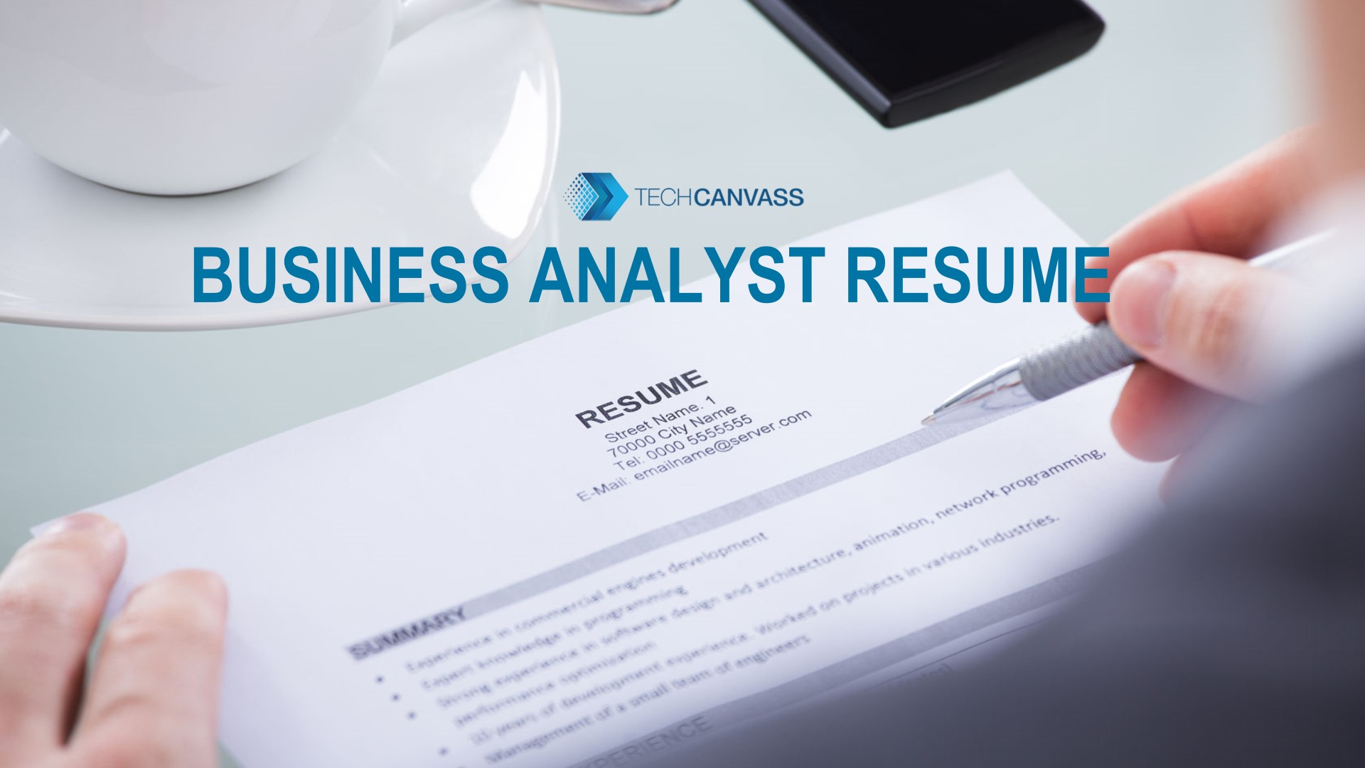 How Do I Need To Prepare A Business Analyst Resume With Testing Experience Business Analyst