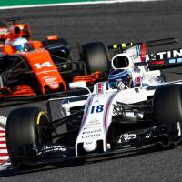 Felipe Massa is 10th in the Formula 1 drivers' standings