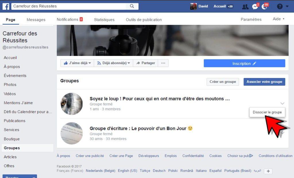 3 Etapes Simples Pour Ajouter Un Groupe Facebook Sur Votre Page