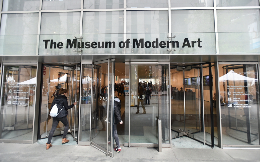MOMA front entrance