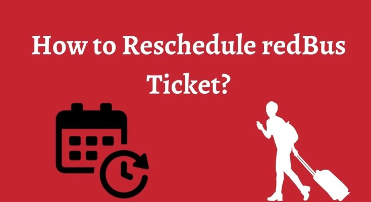 Are you looking to reschedule your ticket but not getting the right options to reschedule your ticket on time.