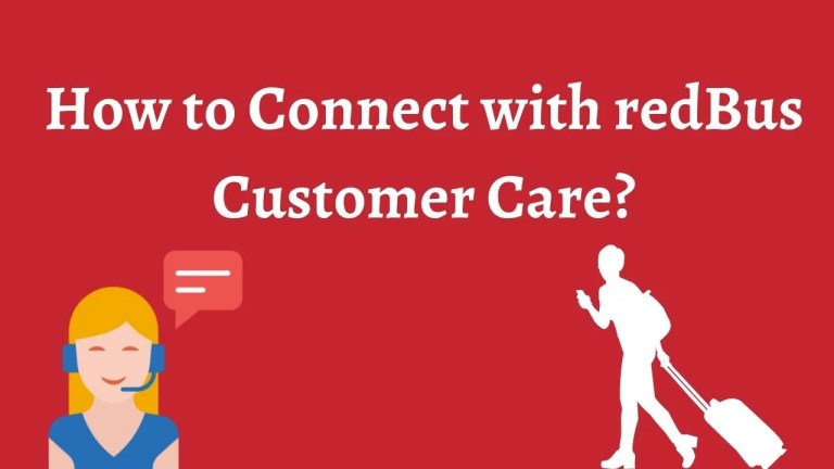 How to Connect with redBus Customer Care?