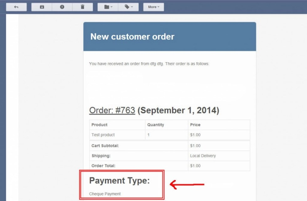 Add payment type to order emails in WooCommerce