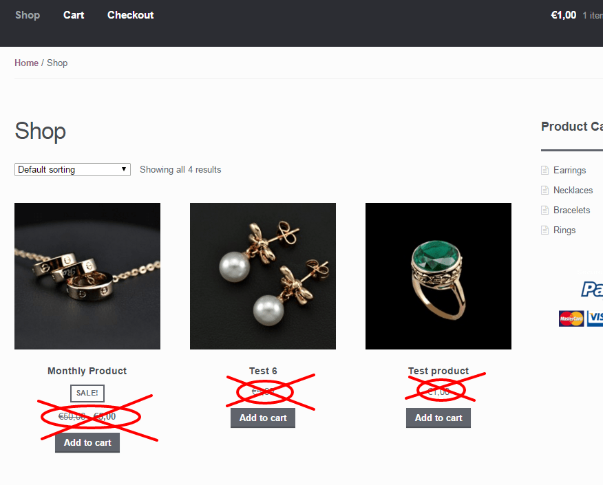 WooCommerce: Hide Prices on the Shop & Category Pages