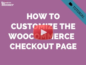 woocommerce-customize-checkout-page-PHP