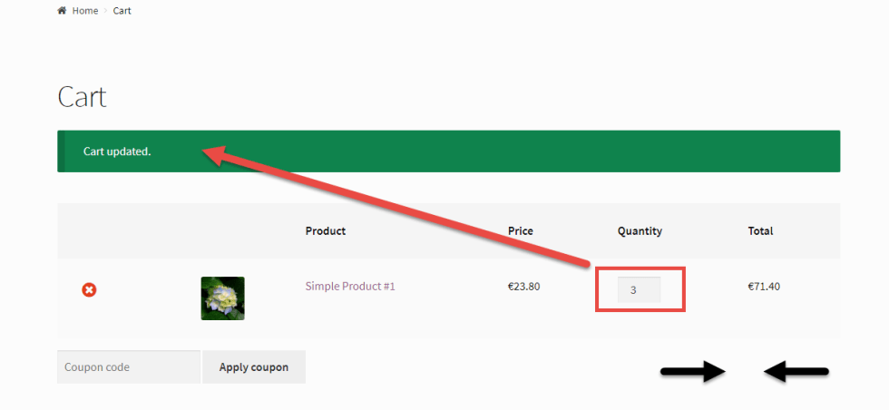 WooCommerce: Automatically Update Cart on Quantity Change