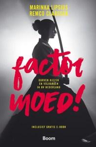 Cover boek Factor Moed