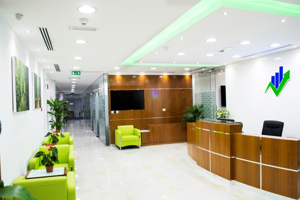 Reception at Business Bay