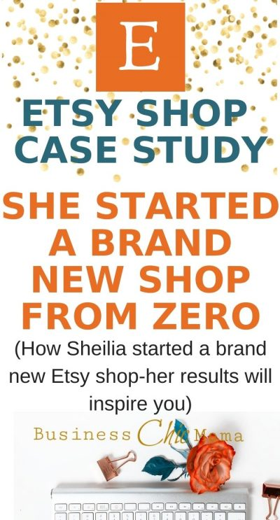 Etsy Shop Case Study-Starting A Brand New Shop From Zero