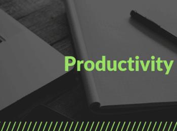 Productivity and Procrastination Business Coaching Journal