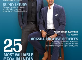 25 Most Valuable CEO's in India (August Issue)