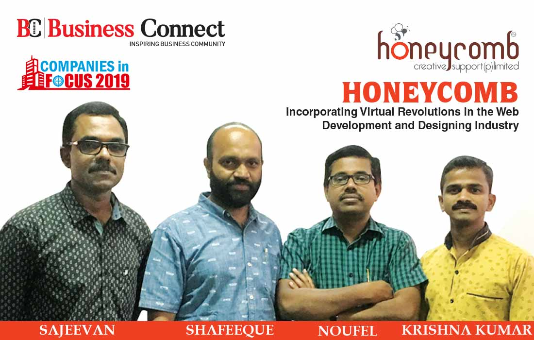 HONEYCOMB, Incorporating Virtual Revolutions in the Web Development and Designing Industry