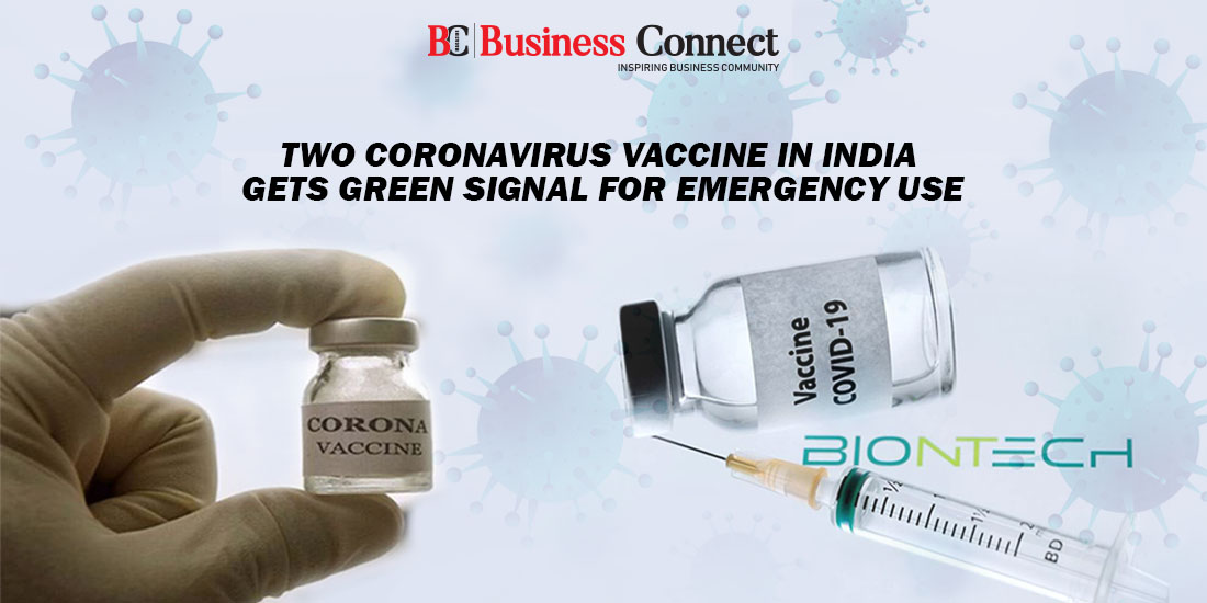 Two Coronavirus Vaccine in India gets Green Signal for Emergency Use