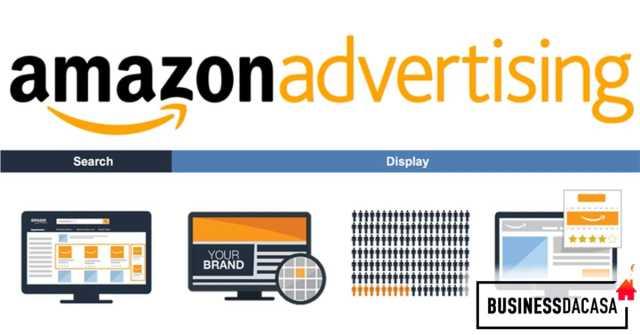 pubblicità amazon