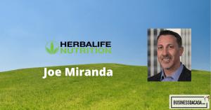 joe miranda herbalife nutrition