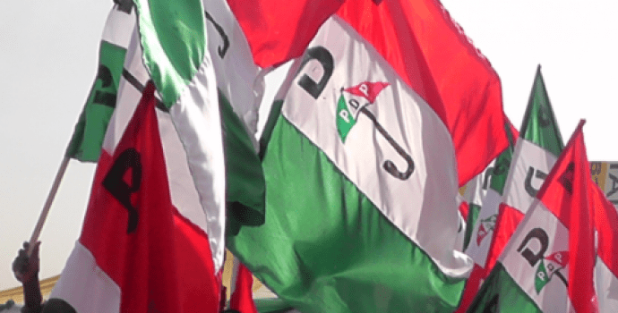 PDP kicks off massive protest in Abuja, to March to Supreme Court