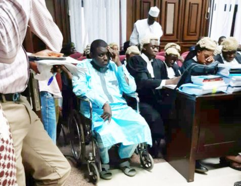 Evading justice on wheelchair? - Businessday NG