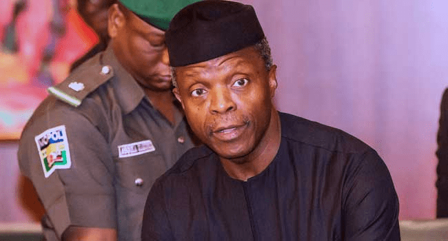 VP Osinbajo performs ground breaking ceremony of Kajola wagon assembly plant - Businessday NG