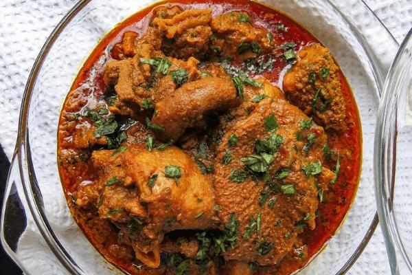 Ofe akwu (banga soup), a delicacy from south eastern Nigeria -