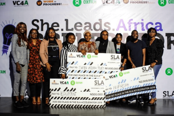 Nufaesah,others win big at 2019 She Leads Africa Demo Day -