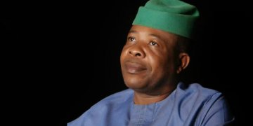 Breaking: Supporters protest Ihedioha's removal in Imo, demand Tanko' sack