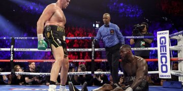 Fury tearsWilder in 7-round masterclass to claim WBC heavyweight title - Businessday NG