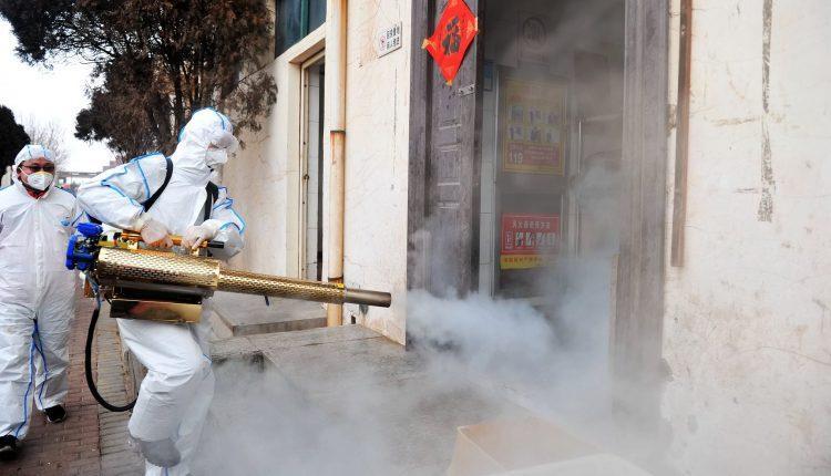 Coronavirus: Ikeja embarks on mass disinfection of public spaces