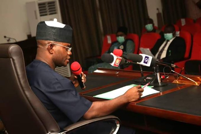 Gov. Bello places visiting NCDC Officials on 14-day isolation - Businessday NG