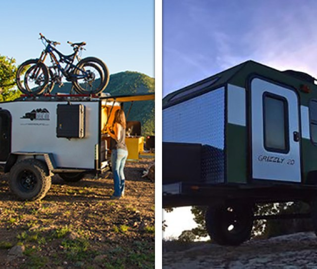 The Boreas Xt Left And Grizzly   Campers Bearpaw Campers And Into The Wild Overland