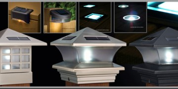Solar Deck Lights and Solar Post Lights - Solar powered lights for the yard