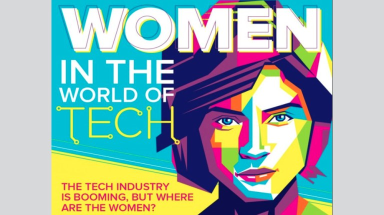 Women tech - Only 20% of tech jobs are owned by women, how about your company? (INFOGRAPHIC)