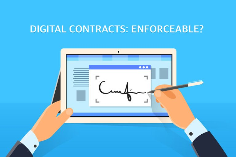 can digital contracts be applied - Can digital contracts be applied?
