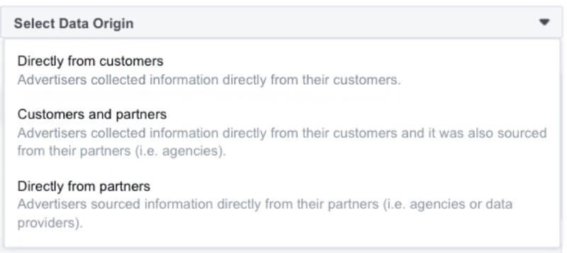 facebook updates the requirements of the personalized audience list to create more advertising transparency - Facebook updates the requirements of the personalized audience list to create more advertising transparency